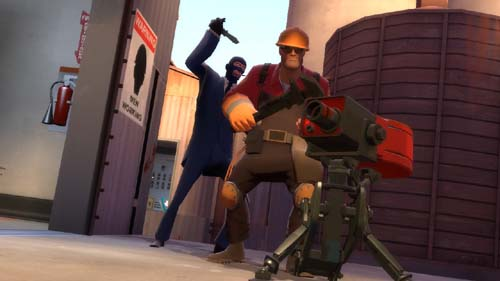 TF2 Spy vs Eng