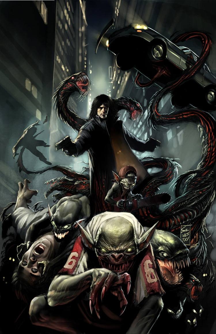 Cover of The Darkness Comic
