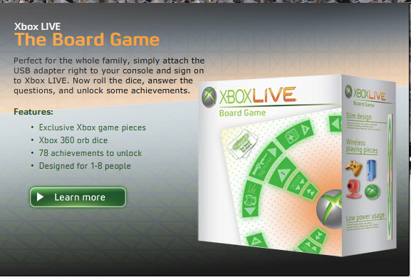 XBLive Board Game